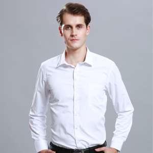 工作服衬衫男长袖商务休闲