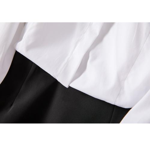 职业白衬衫女长袖纯棉新款
