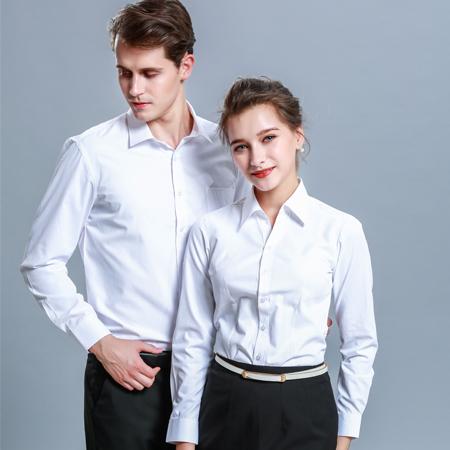 秋季白衬衫长袖正装职业装免烫商务衬衫