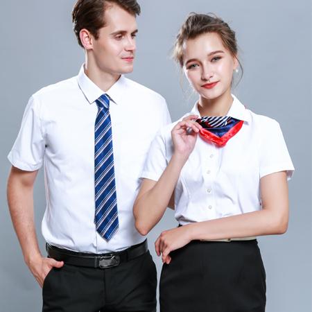短袖衬衫修身职业装商务正装工作服