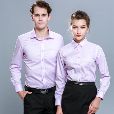 秋季新款衬衫长袖薄款商务正装职业装