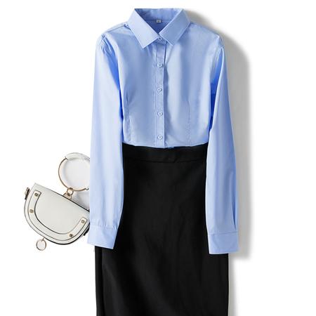 秋季商务职业装衬衫女长袖
