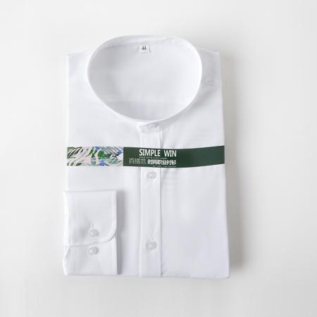 衬衫男长袖免烫纯棉衬衣职业装正装衬衫