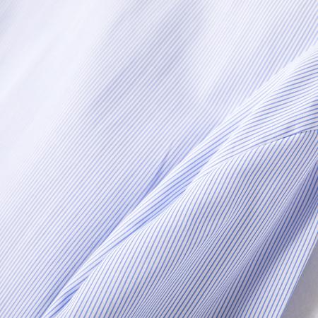 春秋季长袖衬衫女职业工装方领