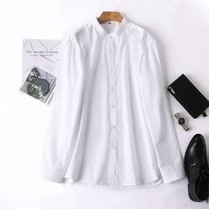 衬衫男长袖休闲白衬衣
