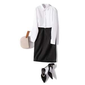 衬衫女长袖休闲白衬衣百搭工作服