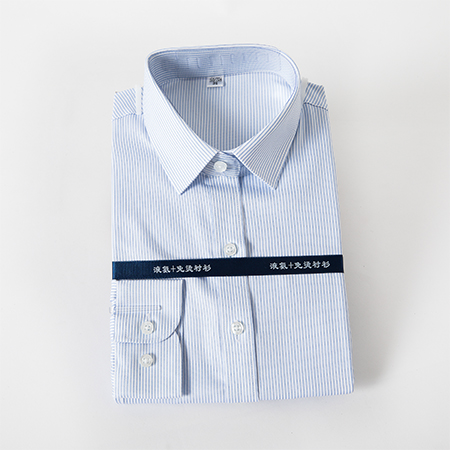 衬衫女长袖商务修身免烫工装