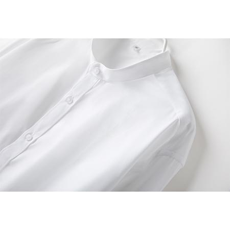 衬衫男长袖休闲白衬衣百搭工作服