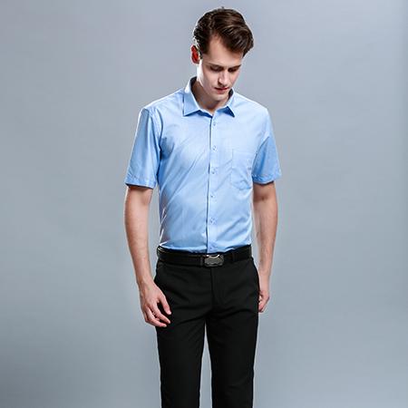 男装商务休闲短袖衬衫衬衣