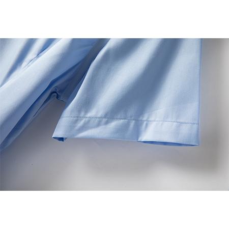商务免烫正装衬衫舒适修身短袖男士