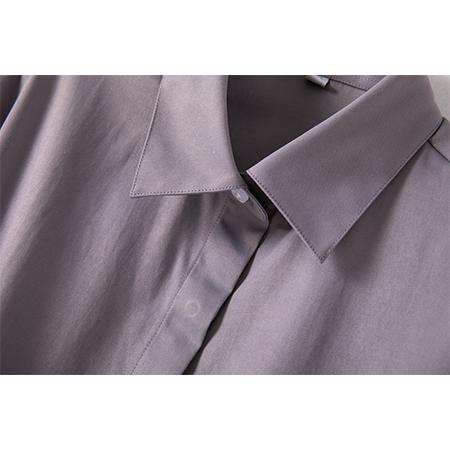 职业长袖衬衫正装女工作服