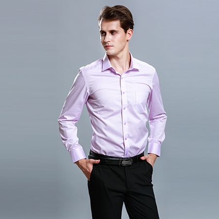 男士职业长袖衬衣正装