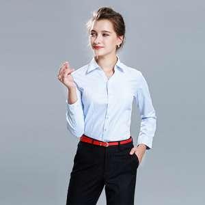 长袖衬衫女士商务休闲衬衣