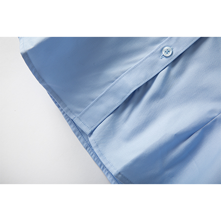 商务正装衬衫舒适修身短袖女士