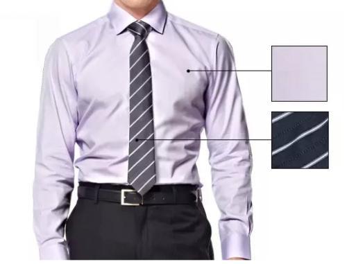 衬衫和领带的对等方程式