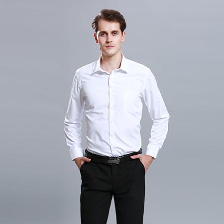 教您清洗白色定做衬衫工作服的方法