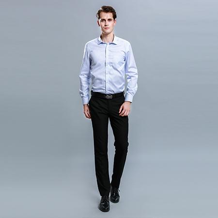 职业男士衬衣不同行业的要求