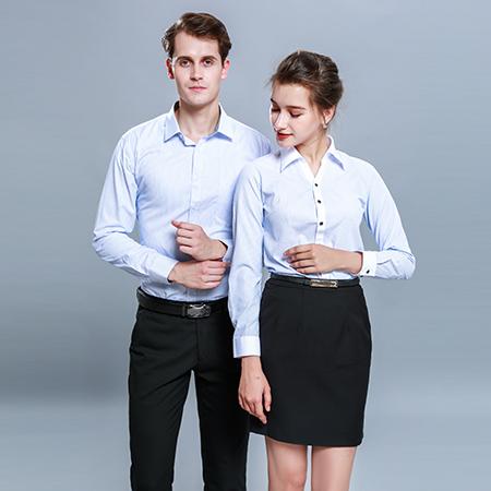 如何搭配西服跟衬衫-衬衫定制工服美